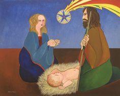 Natividade Aldemir Martins (Brasil, 1922-2006) óleo sobre tela