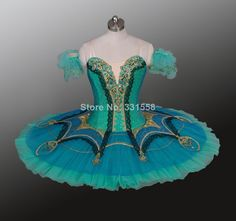 2014 New !Adult Green Ballet Tutu, Professional Classical Ballet Tutus for perfomance,tutu ballet costumes
