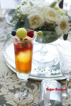 fruits iced tea