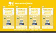 Social Media, Marketing Digital, Google AdWords, Marketing.