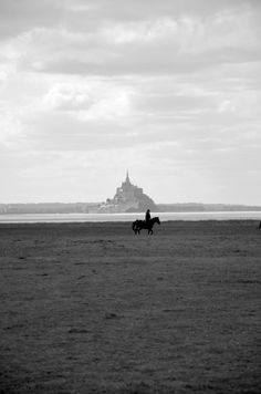 French landscape |Black and white
