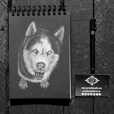 Interested in pet portrait? Starting from £50 for A5.... Pm me, email me (sproodledoodle@gmail.com) ...get in touch...  #dog #husky #portrait #ink #dotted Admin Work, Best Portraits, Draw Something, Ink Illustrations, Stippling, White Ink, How To Take Photos, A5, Black Backgrounds