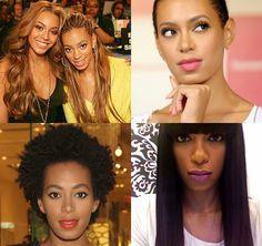 Solange's Natural Hair Evolution