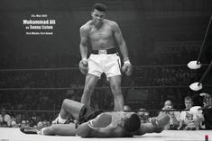 A great poster of Muhammad Ali knocking down Sonny Liston in the first minute of the first round on May Fully licensed. Our amazing selection of Muhammad Ali posters will knock you out! Need Poster Mounts. Morning Sun, New York Poster, Mike Tyson, Brigitte Bardot, Citation Combat, Citation Mohamed Ali, Muhammad Ali Wallpaper, Forest Poster, Inspirer Les Gens
