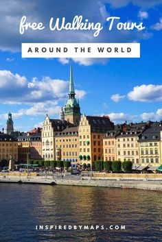 Guide to Free walking tours around the world. Free walking tour madrid stockholm New york Paris Berlin Prague London. Free Things To Do in Europe. ☆☆ Travel Guide / Bucket List Ideas Before I Die By #Inspiredbymaps ☆☆
