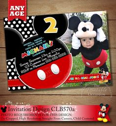 HUGE SELECTION Mickey Mouse Birthday by ThePrintableOccasion, $7.00