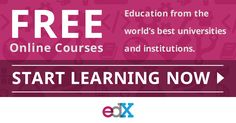 EdX offers free online courses and classes from the world's best universities and institutions. Explore the latest courses from MIT, Harvard, UC Berkeley, The Smithsonian, Catalyst, The University of Texas and more. Take free courses on your schedule in business, computer science, literature, history, science, engineering, finance, data analysis, statistics and more. Build new skills or pursue a lifelong passion with edX. Learn something new today.