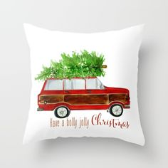 You will love these fun and fab Christmas pillows including plaid, buffalo check, faux fur, Christmas typography, and Craftberry Bush designs.