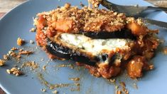 Eggplant Parmesan Casserole Recipe - Use Chef John's simple techniques to make an eggplant casserole that has all the flavor and textu - Chefs, Amazing Vegetarian Recipes, Dry Bread Crumbs, Eggplant Parmesan, Eggplant Recipes, Recipe Using, Casserole Recipes, Vegetable Recipes, Italian Recipes