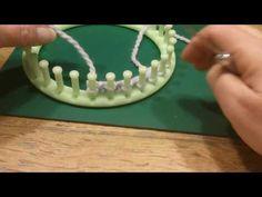 U wrap knit stitch breiring loom / uutjessteek zo los mogelijk (video II) - YouTube