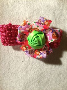 Princess Sofia Head Band by HelgasHairBowDesigns on Etsy