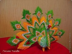 3d origami peacock is very useful for decoration. just need few hard work. first learn to make pieces. we have to need many pieces for t...