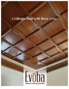 Quot Wood Quot Ceiling Planks Actually Inexpensive Styrofoam