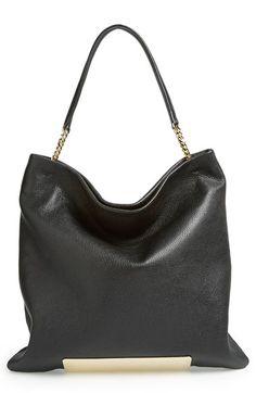 Jimmy Choo convertible - love the shape and golden accent #designerbag #nordstrom