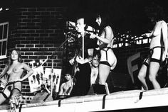 """The Stranglers """"Nice n Sleazy"""" live, London 1978 <<A few strippers got on stage during The Stranglers' 1978 concert at Battersea Park.>>"""