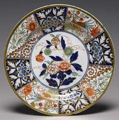 Maker(s) & Production:  Coalport Porcelain Factory, factory, England, Coalport  Category:  soft-paste porcelain  Name:  plate  Date:  circa 1805 — 1810