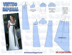 66 Ideas For Diy Wedding Dress Patterns Gowns Sleeve African Dress Patterns, Dress Sewing Patterns, Clothing Patterns, Diy Wedding Dress, Wedding Dress Patterns, Sewing Clothes, Diy Clothes, Gown Pattern, Pattern Fabric