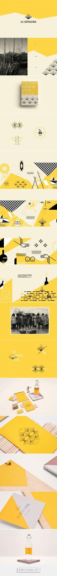 La Sotolería Bar Branding by Estudio Yeyé® | Fivestar Branding Agency – Design and Branding Agency & Inspiration Gallery Graphic Design Branding, Graphic Design Illustration, Hipster Graphic Design, Graphic Design Pattern, Print Design, Brand Identity Design, Type Logo, Corporate Branding, Logo Branding