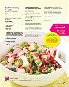 ... steamed vegetable salad with macadamia dressing see more 1 zinio great
