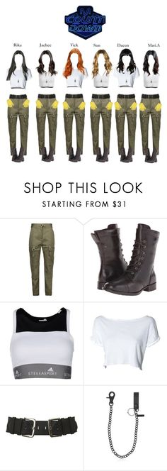 """""""《Special Stage 》4U & STARZ - CATCH ME IF YOU CAN ON M COUNTDOWN"""" by starz-official ❤ liked on Polyvore featuring Alexander Wang, Børn, adidas and Dsquared2"""