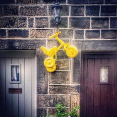 29 Brilliantly Yorkshire Ways To Welcome The Tour De France Yorkshire, Welcome, Tours, Bicycles, Cycling, Pictures, Yellow, Photos, Biking
