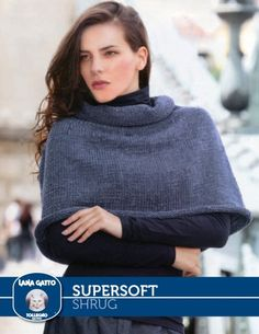 SuperSoft - Shrug from  by Lana Gatto at KnittingFever.com