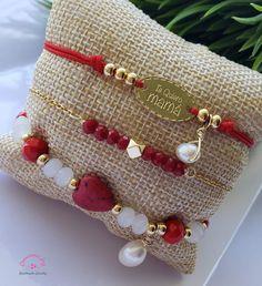 Handmade Beaded Jewelry, Handmade Bracelets, Beaded Bracelets, Rope Jewelry, Jewelery, Bracelet Crafts, Jewelry Crafts, Motifs Perler, Homemade Jewelry