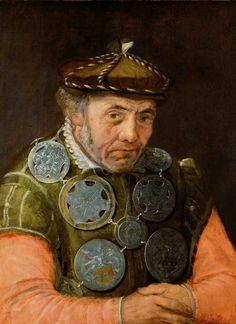 Frans Floris de Vriendt, The Portrait of a Guild Officer, ca. 1563/1565 Kunsthistorisches Museum, Vienna