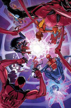 Spider-Verse #2 by Giuseppe Camuncoli *