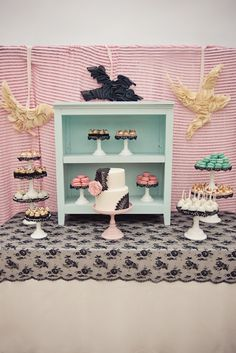 cake table design - I need to find one of this cabinet things ASAP