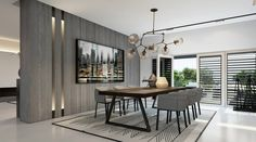 Modern dining room curtains modern living room curtains photos drapes designs online dining home decoration modern Dining Table Design, Modern Dining Table, Dining Room Table, Small Dining, Dining Room Curtains, Esstisch Design, Luxury Dining Room, Interior Design, Room Interior