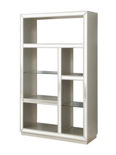 Mirrored Bookcase by Coast to Coast at Gilt