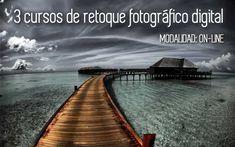 3 cursos on-line de retoque fotográfico digital #cursosonline #fotografia