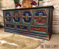 43 Ideas Painting Furniture Boho Beautiful For 2019 Diy Garden Furniture, Ikea Furniture, Paint Furniture, Repurposed Furniture, Rustic Furniture, Furniture Makeover, Modern Furniture, Furniture Design, Antique Furniture
