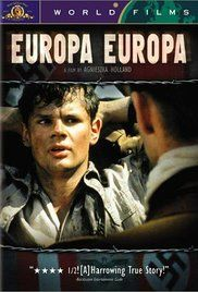 Europa Europa tells the story of a boy who, separated from his family after Kristallnacht, does anything to survive the horrors lived as a Jew - he lies and says he is an Aryan German, which leads him to become a valuable interpreter and a member of Hitler's Youth.