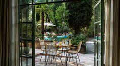 La Villa du Pigonnet | Hôtel Le Pigonnet Villa, Cozy Backyard, Glazed Tiles, Window Shutters, Local Attractions, Garden Photos, Common Area, Architecture, Provence