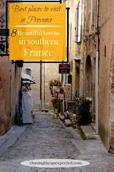 Gordes, Lacoste, Avignon, and Vaucluse are only some of the best places to visit in Provence, a stunning region in Southern France. Travel in Europe.