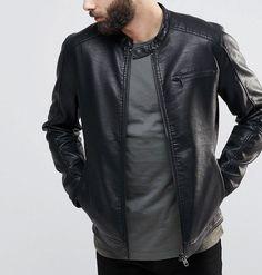 75a3e344d 50 Best Jackets for Men images in 2017 | Jackets, Men, Faux leather ...
