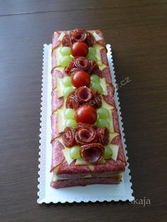 Cheese Display, Party Platters, Salty Cake, Food Decoration, Antipasto, Catering, Waffles, Sandwiches, Pasta