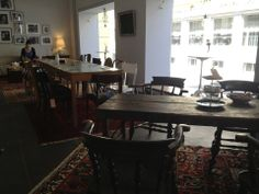 Moudi's Lecker Cafe Zurich, Dining Table, Vegetarian, Plates, Travel, Furniture, Home Decor, Licence Plates, Dishes