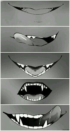 Toothed Mouth