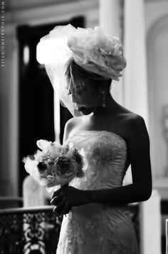Fascinator e bouquet Élida Goulart. Contato (031)99191.8404