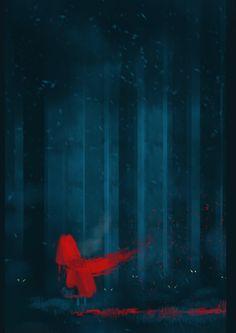 https://www.facebook.com/pages/Puchalski-Art/108435727968  Red Ridding Hood Speed Paint