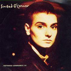 Sinead O'Connor - Nothing Compares 2 U - UK cassette single Carton Box.