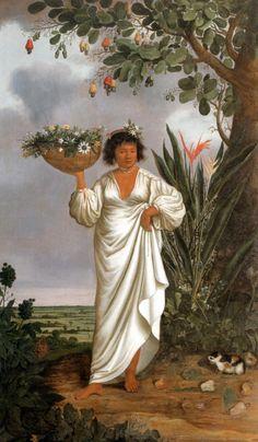 Albert Eckhout - Mameluca woman