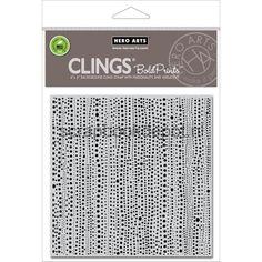HeroArts Cling stamp 6x6inch Pearl Strings