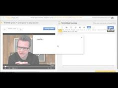 Take notes/ask questions while watching a video. Google Drive integration.