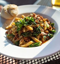 Traditional Italian Cavatelli Pasta with Sausage and Broccoli Rabe (Cavatelli con Salsicce e Cime di Rapa) | Enjoy this authentic Italian recipe from our kitchen to yours. Buon Appetito!