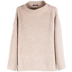 The Row Long Sleeve Sweater ($688) ❤ liked on Polyvore featuring tops, sweaters, jumpers, shirts, beige, long sleeve turtleneck, ribbed turtleneck sweater, beige long sleeve shirt, pink shirts and turtleneck long sleeve shirt