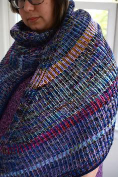 Ravelry: Project Gallery for Askews Me Shawl pattern by Stephen West